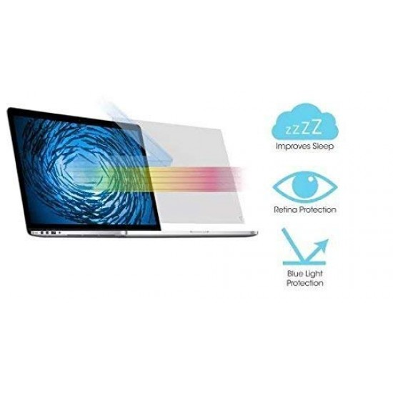 21-22 inch VizoBlueX Anti-Blue Light Screen Protector for Computer Monitor (19.7 x 12.2 inch)