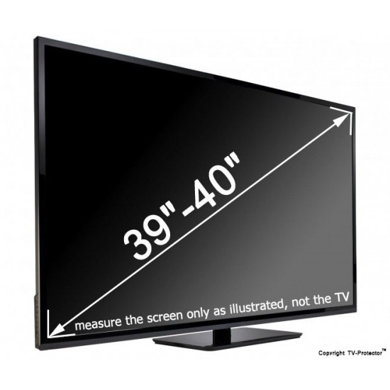 39 - 40 inch Ultimate TV-Protector (35.6 x 21.3 inch/90.5 X 54 cm) Ultimate