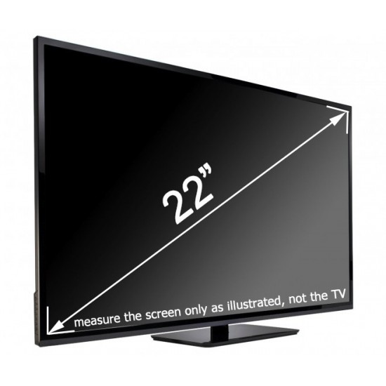 21-22 inch Ultimate TV-Protector (19.7 x 12.2 inch/50 X 31 cm) Ultimate